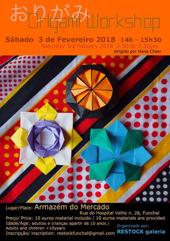 this weeks origami workshop madeira island news blog